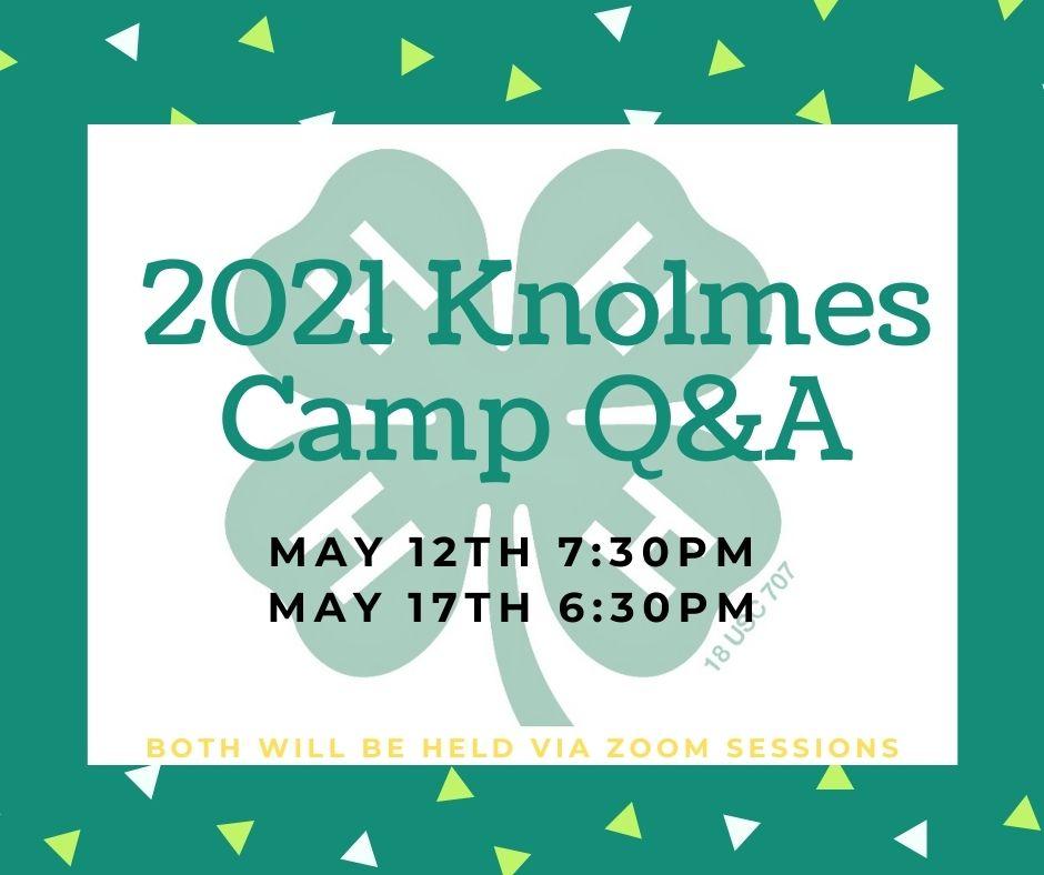 Knolmes Camp Q&A 2021