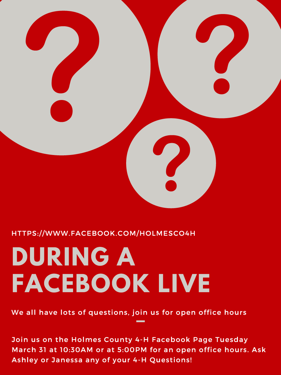 Facebook Live Office Hours 10:30a and 5p
