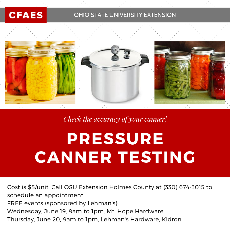 Canner Testing 2019
